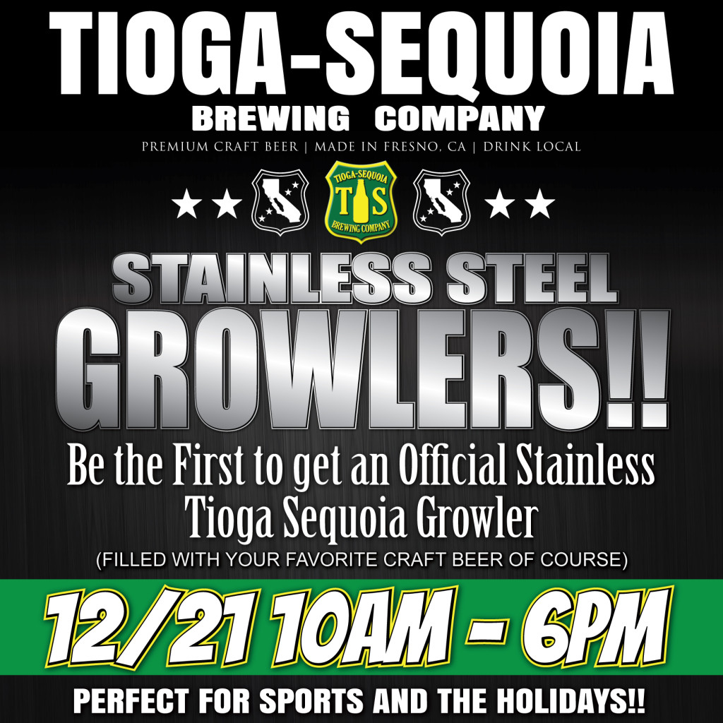 Stainless Growler Flyer