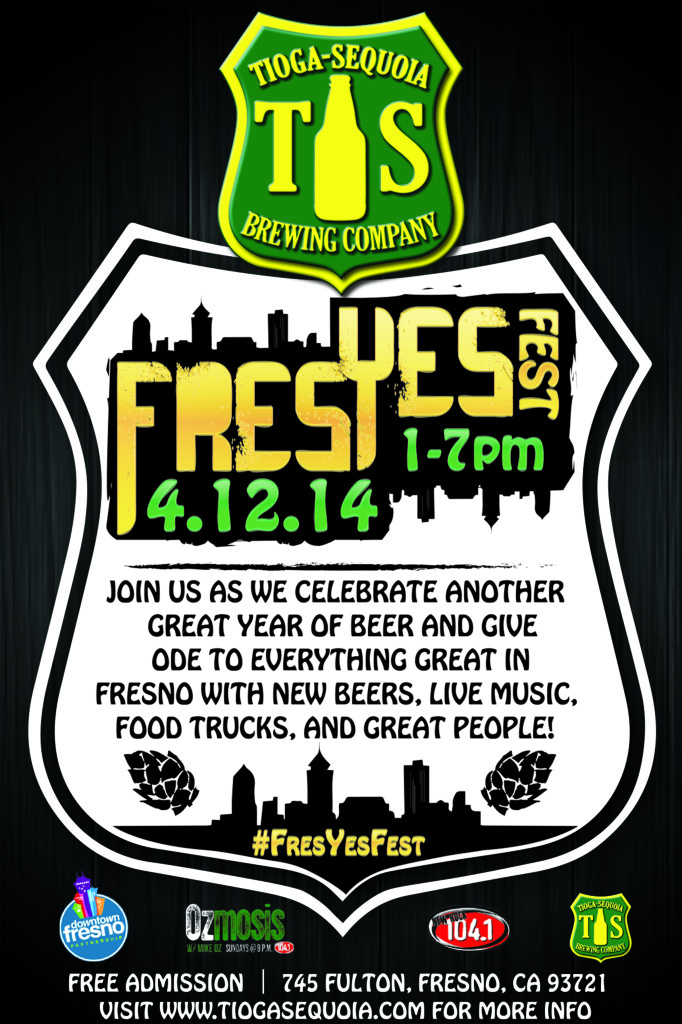 Official #FresYesFest Flyer - Front