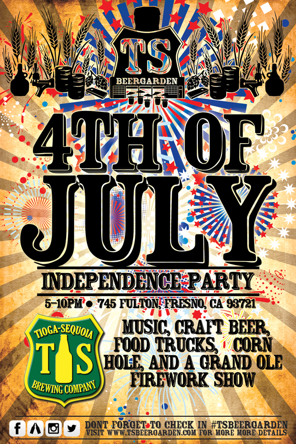 Tioga Sequoia's Independence Party